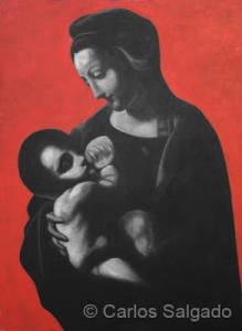 Madonna (d'apres Leonardo)